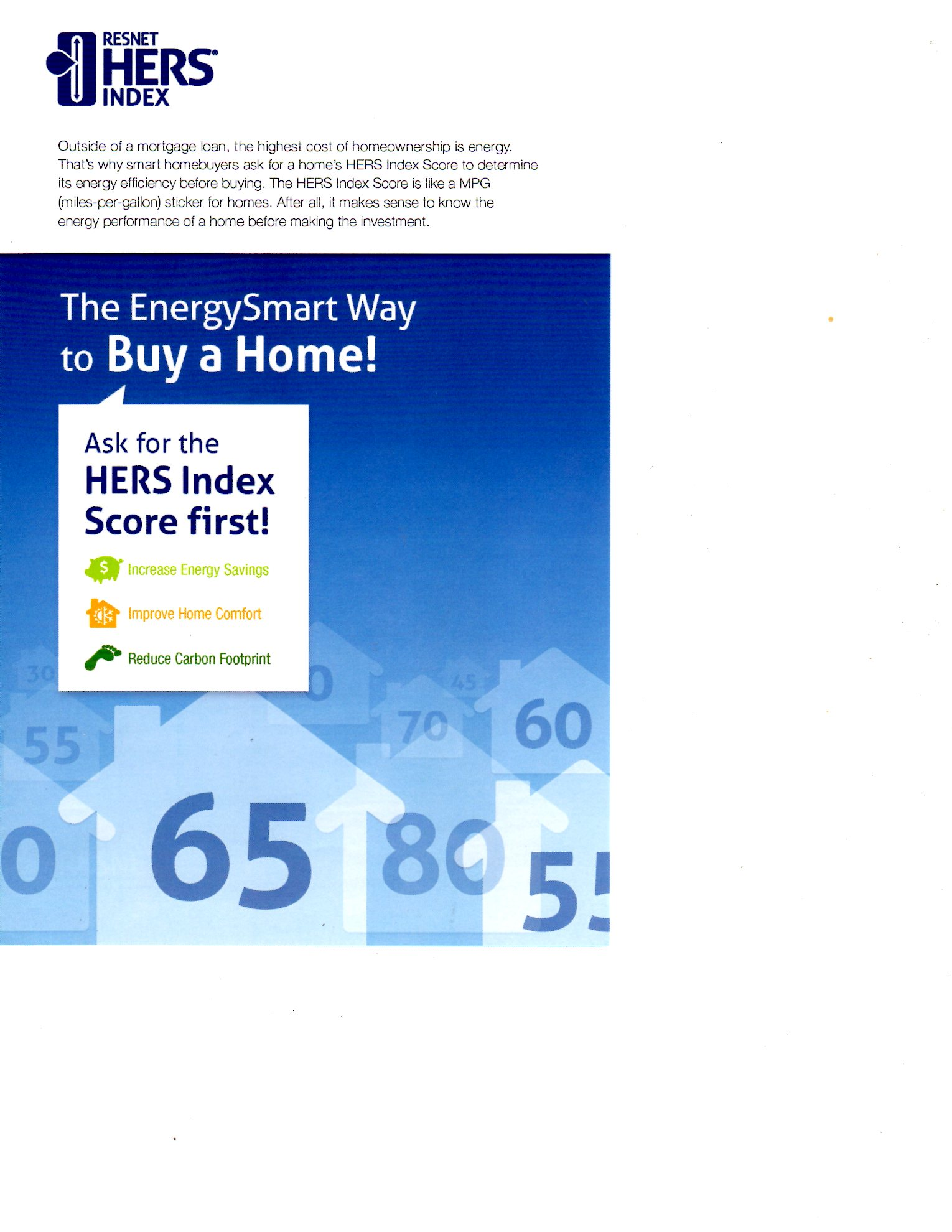 HERS Rating information