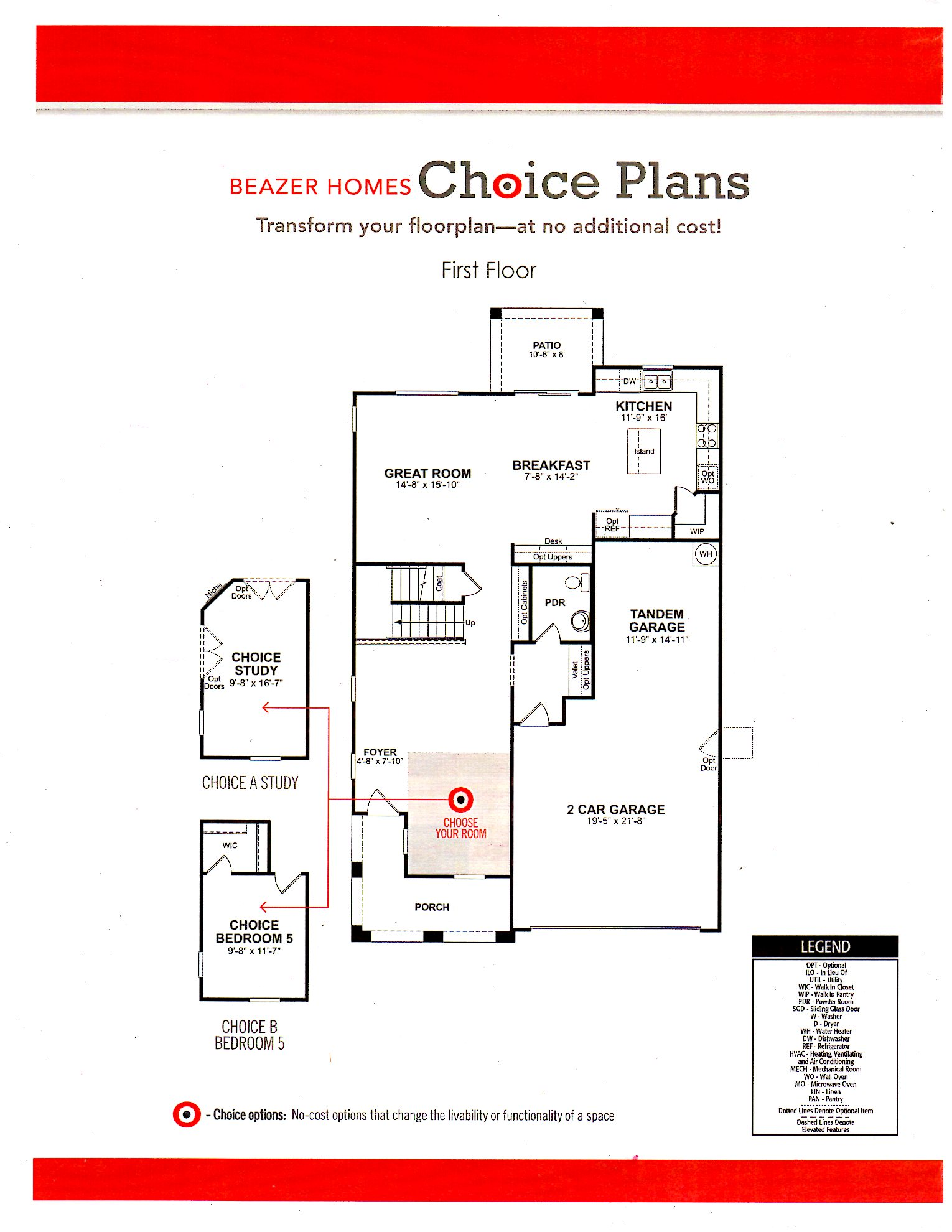 Beazer Homes Floor Plans