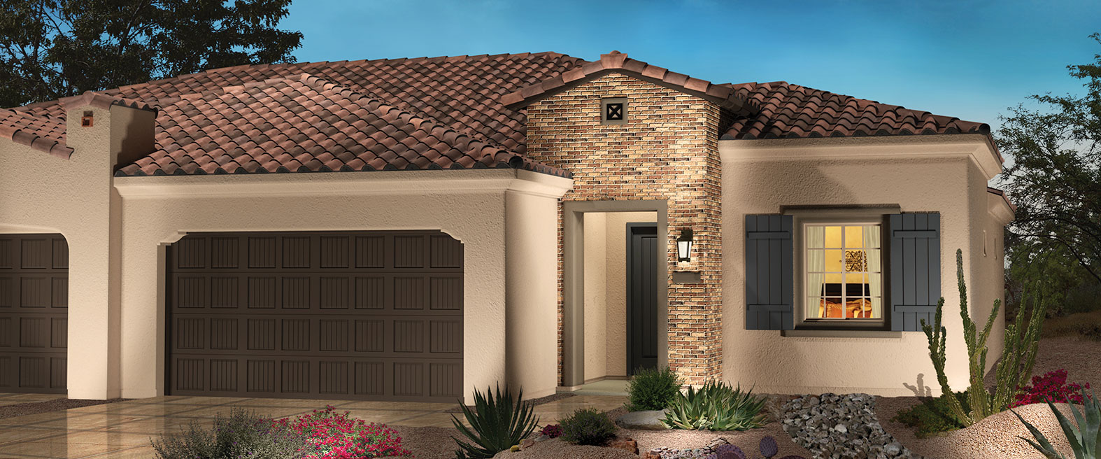 PEBBLE CREEK - COURTYARD VILLA SERIES HOMES