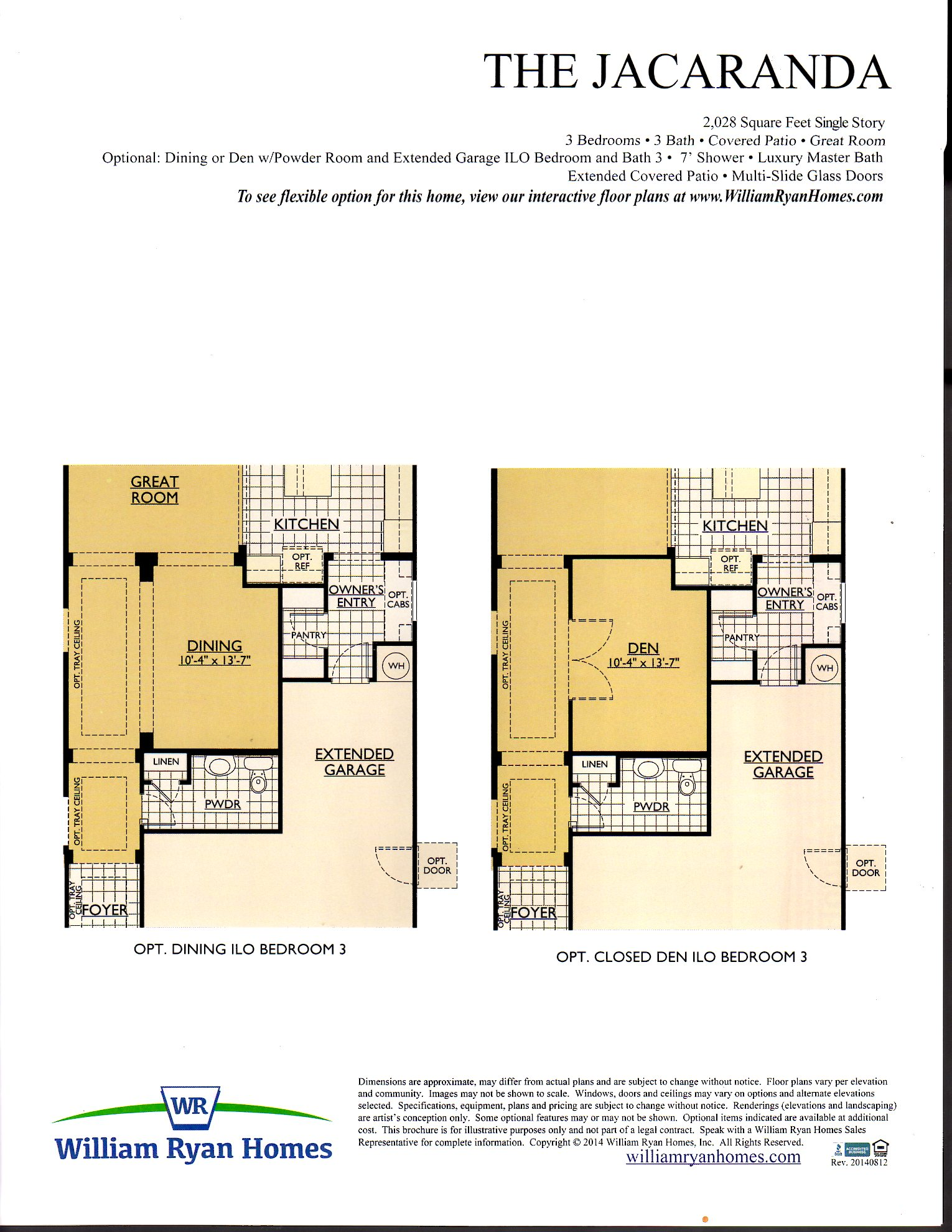 Ryan Homes Home Floor Plans For Patio Free Download