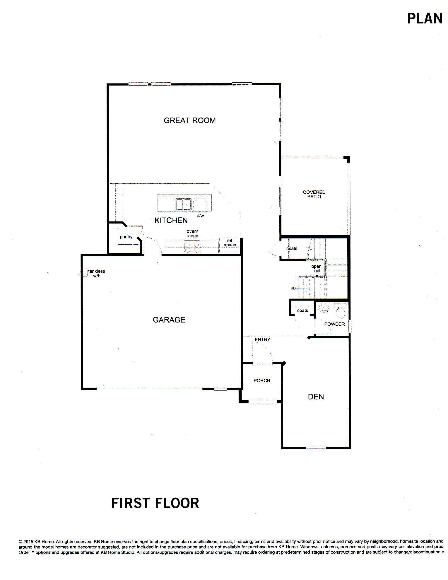 PLAN 2537 -- Two Level Home