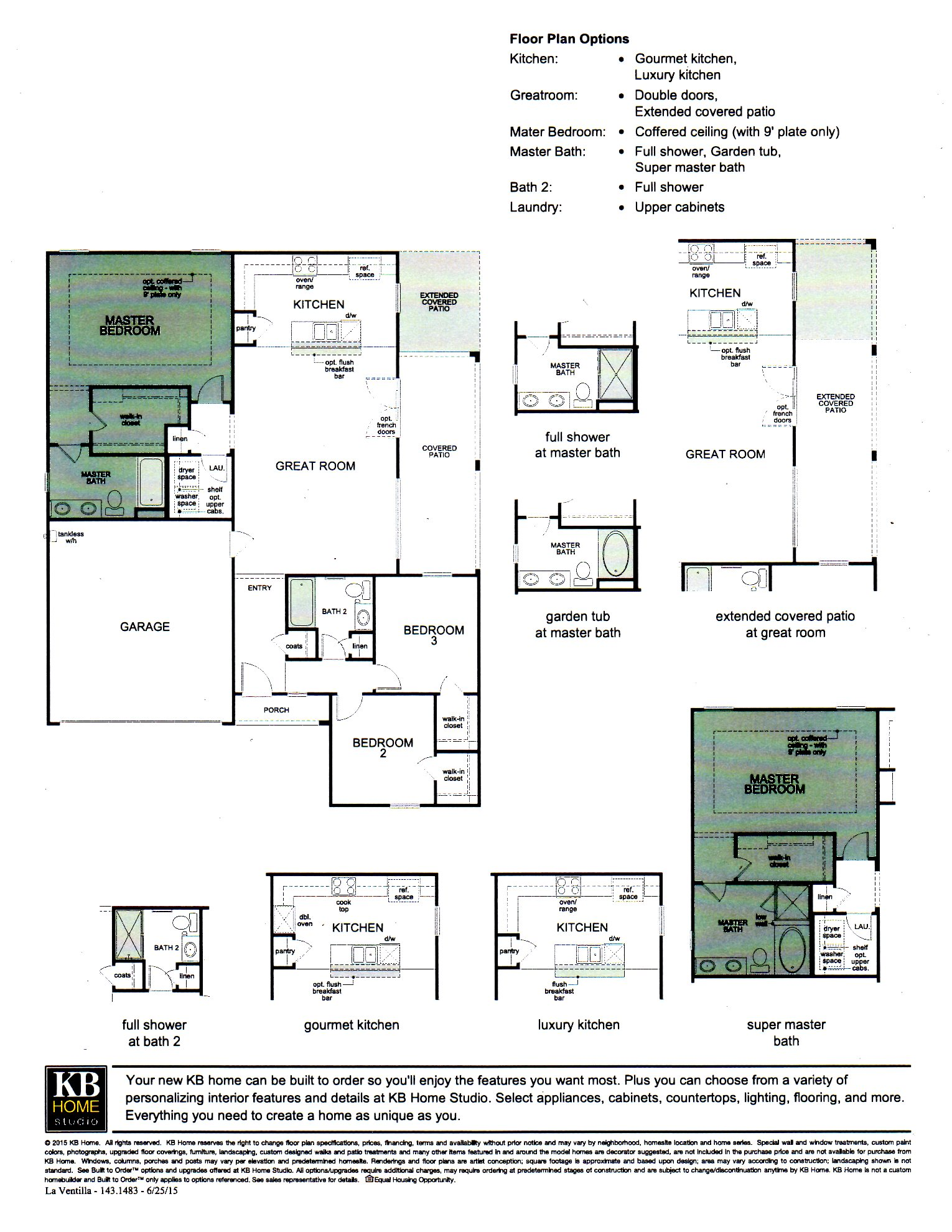 floor plans for kb homes. PLAN 1483  Single Level Home New Homes For Sale Goodyear Avondale Real Estate Litchfield Park