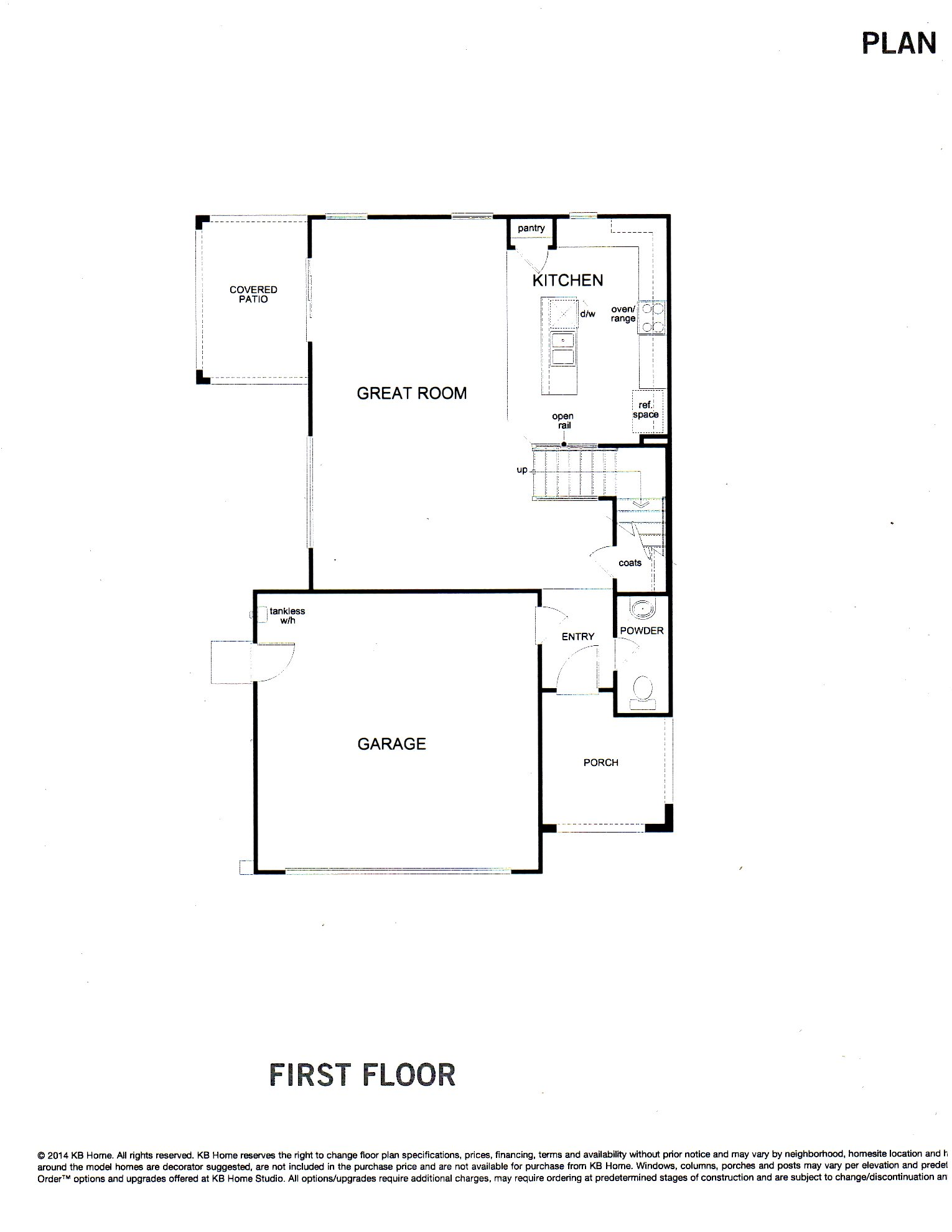 PLAN 1932 -- Two Level Home