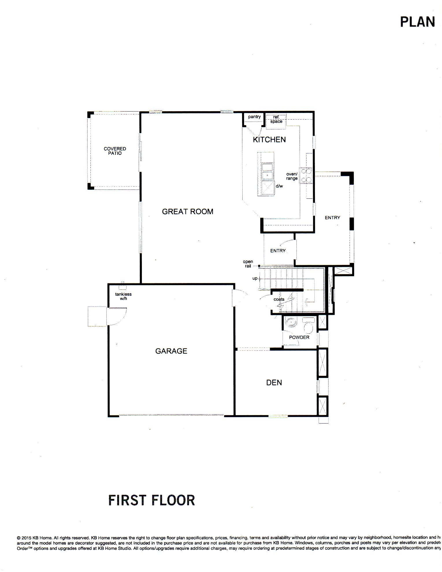 PLAN 2270 -- Two Level Home