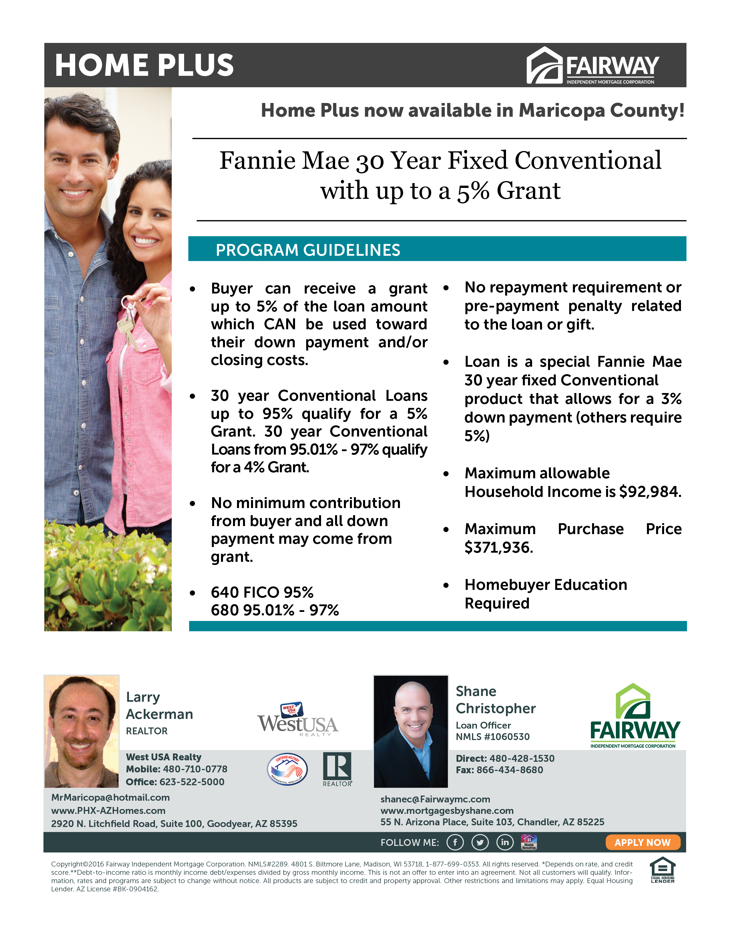 HOME PLUS - DOWN PAYMENT ASSISTANCE PROGRAM