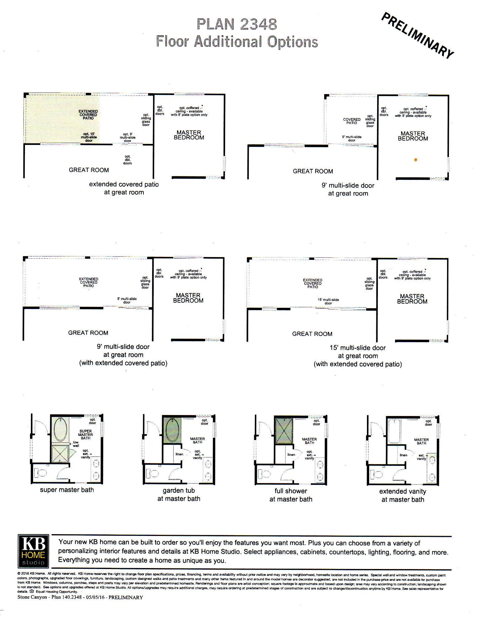 PLAN 2348 -- SINGLE LEVEL HOME