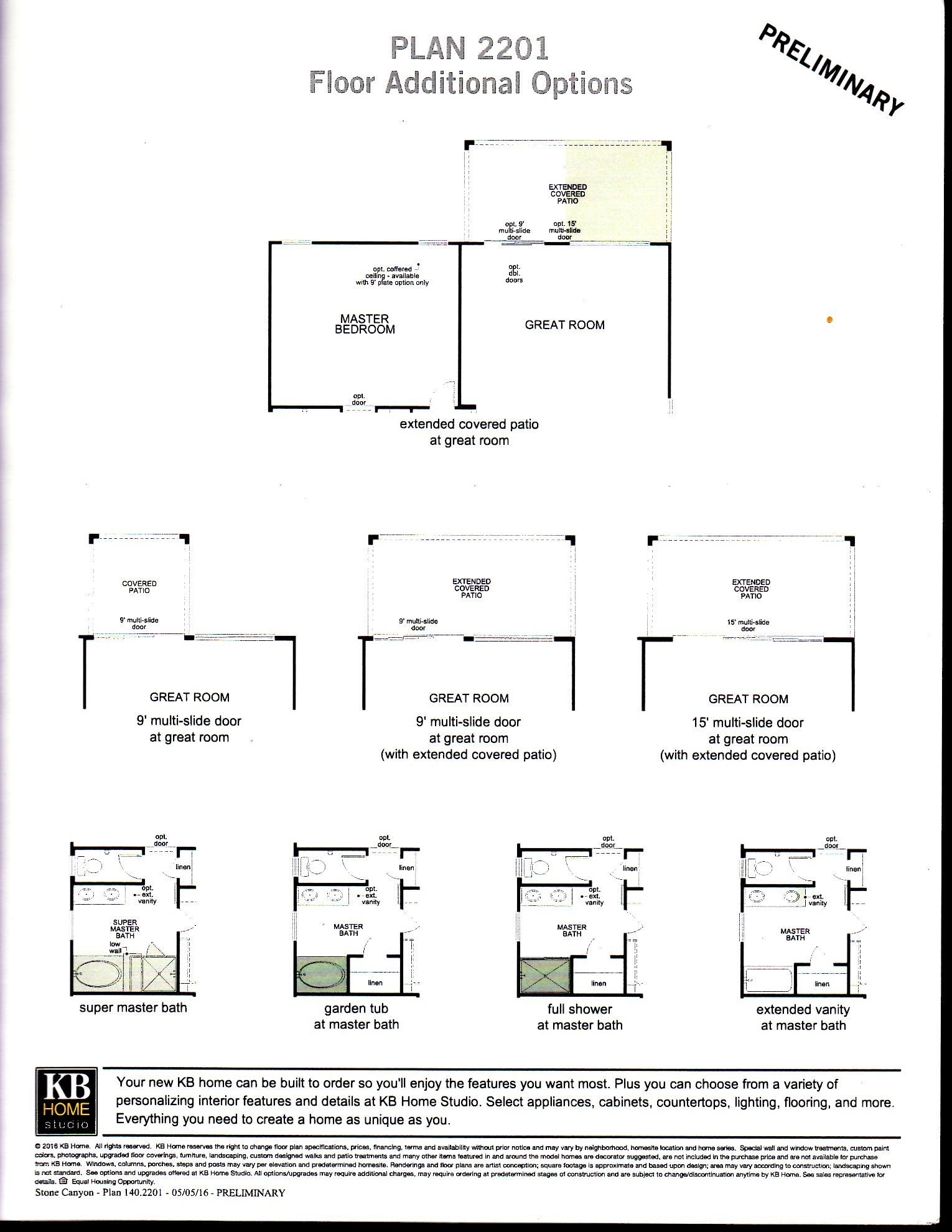 PLAN 2201 -- SINGLE LEVEL HOME