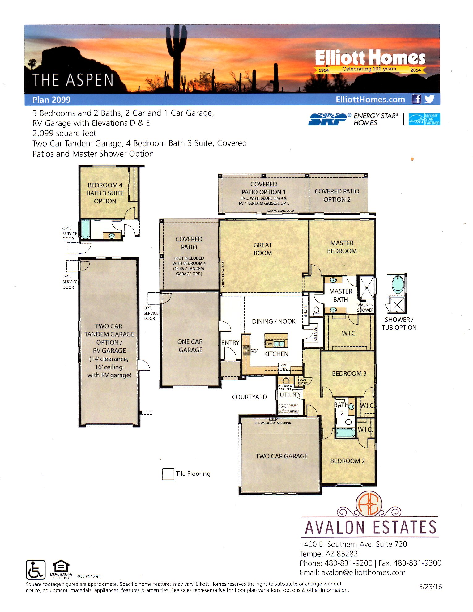 The Aspen - Single Level Home