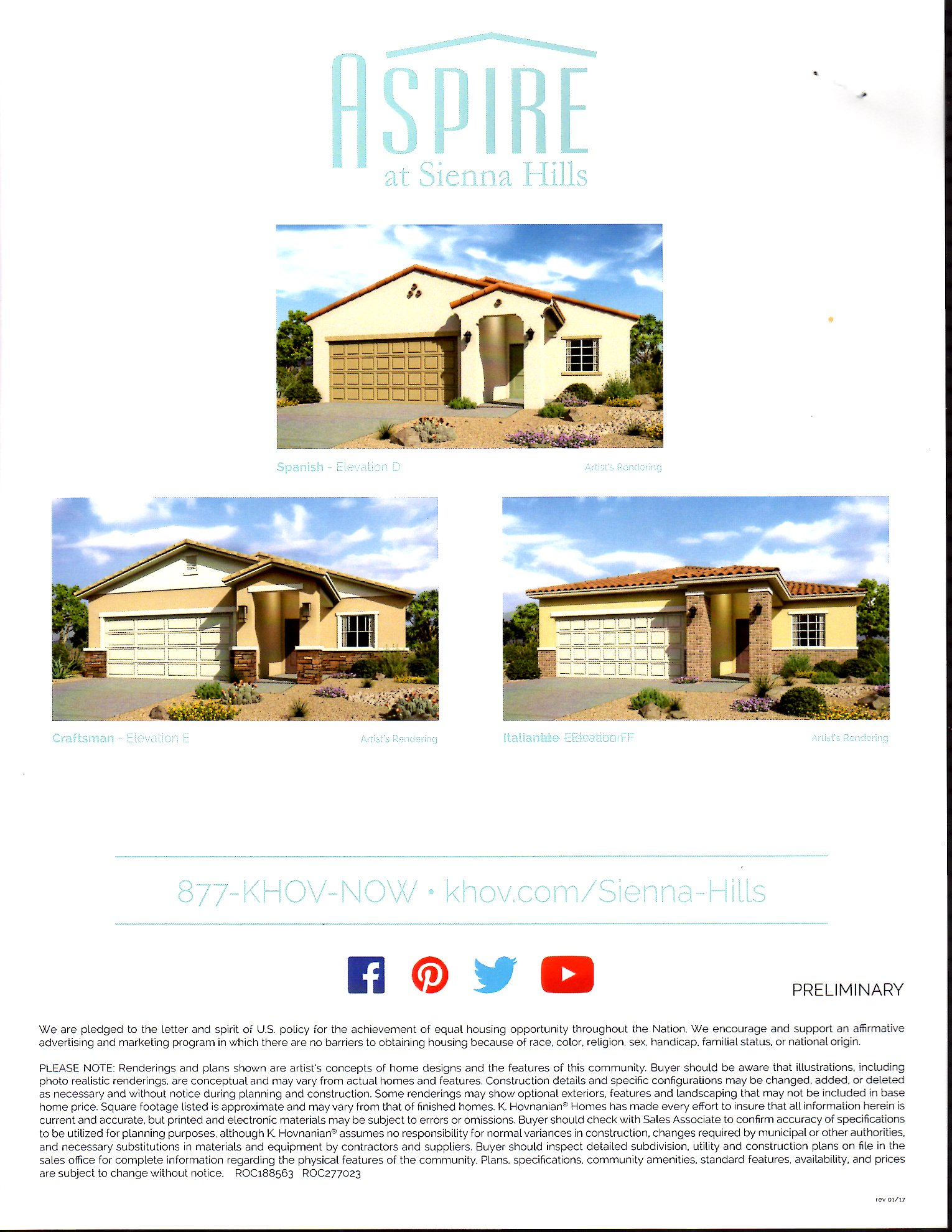 Carnival  - 1395 sq ft Single Level Home