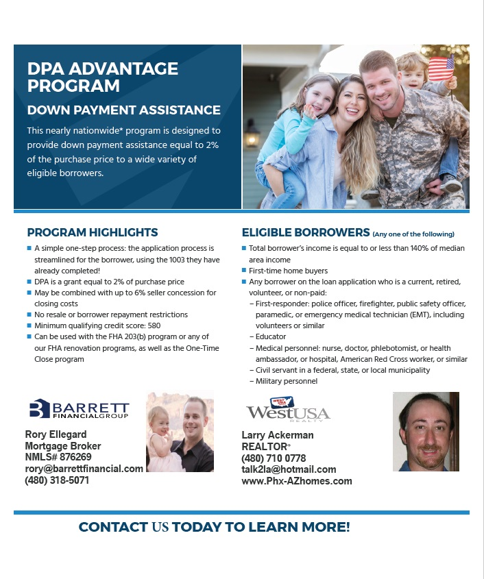 Down Payment Assistance Options