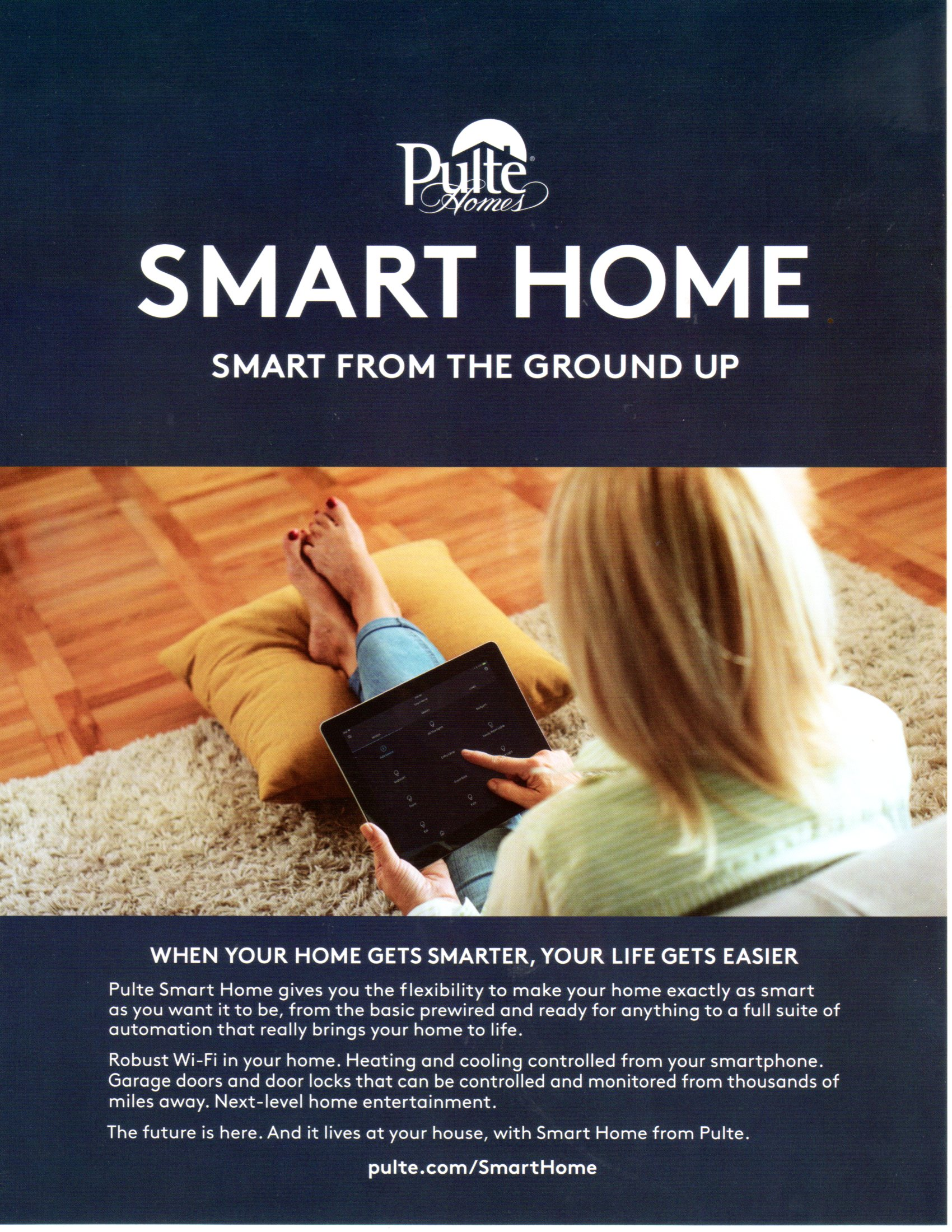 PULTE SMART HOME TECHNOLOGY