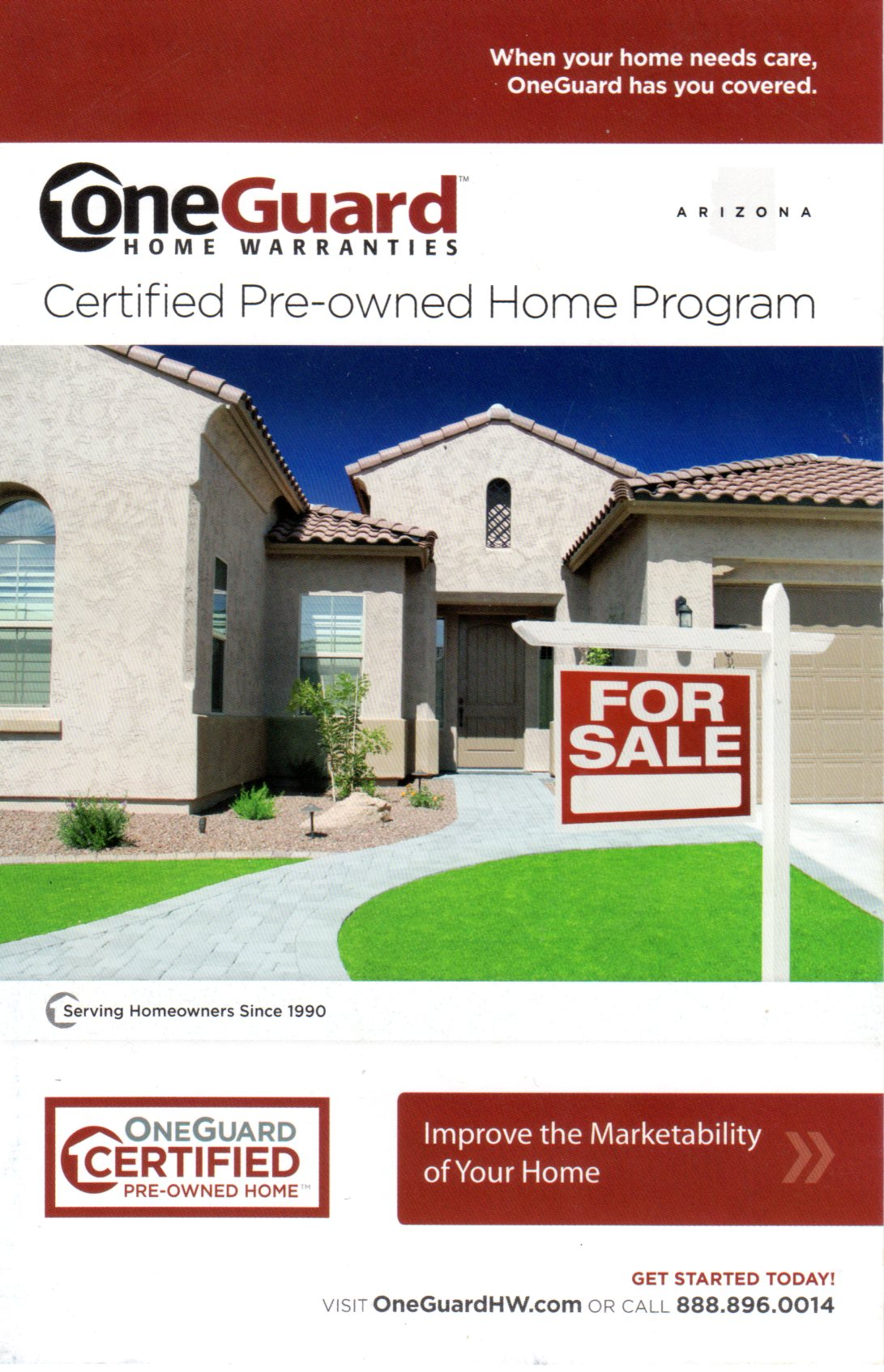 One Guard - Certified Pre-Owned Home Warranty