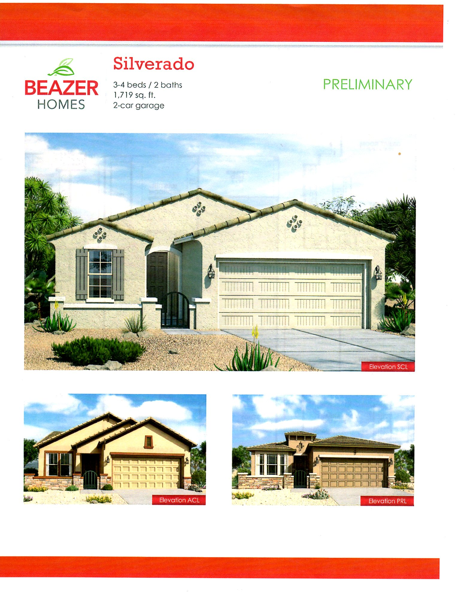 Beazer Homes   Stetson Series   Zanjero Trails