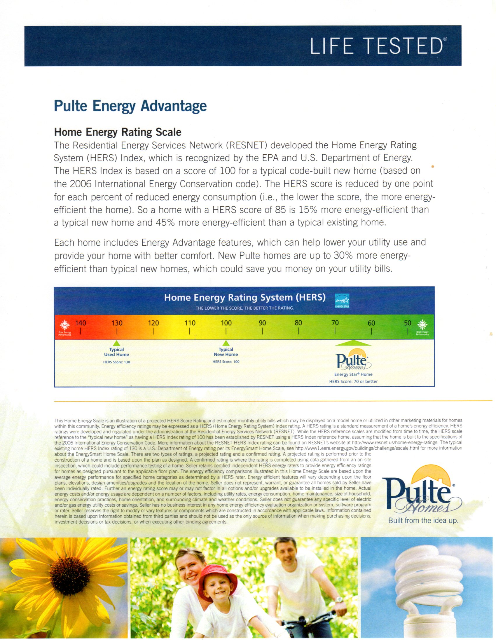 ENERGY RATING INFORMATION - MEADOW SERIES
